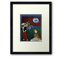 Rothko, Cezanne, Manet, Magritte, Renoir Framed Print