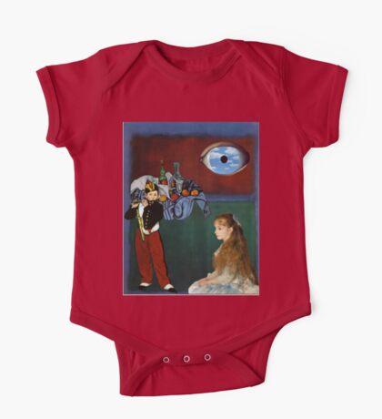 Rothko, Cezanne, Manet, Magritte, Renoir One Piece - Short Sleeve