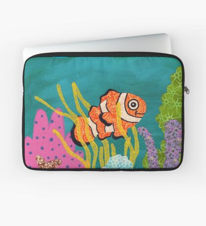 Clownfish Duvet  Laptop Sleeve