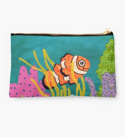 Clownfish Duvet  Studio Pouch