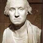A George Washington Bust by Cora Wandel