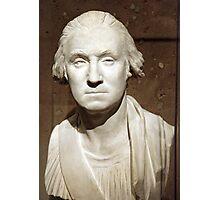 A George Washington Bust Photographic Print