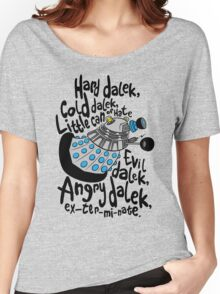 Skaro Dalek (Soft Kitty Parody) Women's Relaxed Fit T-Shirt