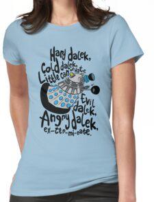 Skaro Dalek (Soft Kitty Parody) Womens Fitted T-Shirt