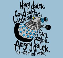 Skaro Dalek (Soft Kitty Parody) Unisex T-Shirt
