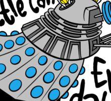 Skaro Dalek (Soft Kitty Parody) Sticker