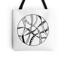Ribbons in a circle Tote Bag