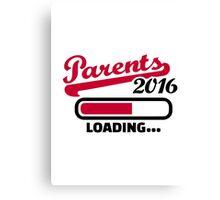 Parents 2016 Canvas Print