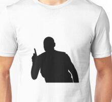 Mutombo Finger Wag - Black Logo Unisex T-Shirt