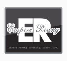 Empire Rising - Grey & white logo. by EmpireRising