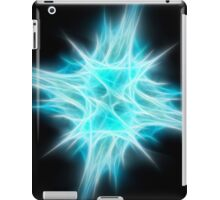Aqua Blue Star 1 iPad Case/Skin