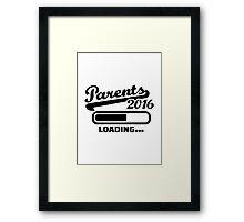 Parents 2016 Framed Print