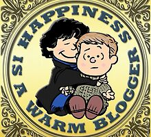 Happiness is a Warm Blogger by marlowinc