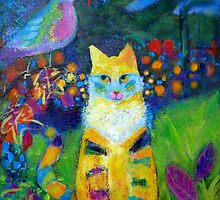 Close Encounters: Cat Sees A Bird  by Valerie Erichsen Thomson