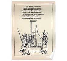 Miniature Under the Window Pictures & Rhymes for Children Kate Greenaway 1880 0038 The Man in the Moon Poster