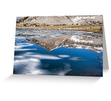 REFLECTIONS AND ICE Greeting Card