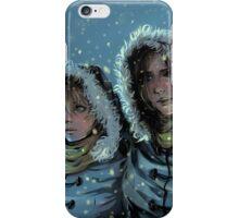 Blue Snow iPhone Case/Skin