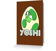 New life on Yoshi Island Greeting Card