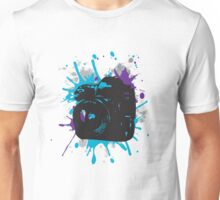DSLR Splat Unisex T-Shirt