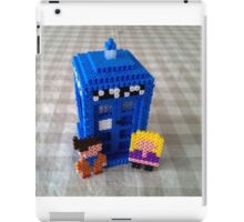 Ten and Rose in 2D iPad Case/Skin