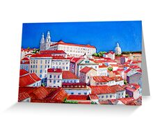 Lisbon 2010 Greeting Card