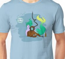 Deep Sea Hit - Coloured Lines Unisex T-Shirt
