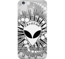 UFO Alien Roswell New Mexico Design 1V iPhone Case/Skin