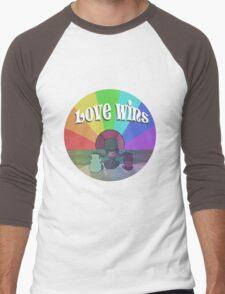 Garnet Wins Men's Baseball ¾ T-Shirt