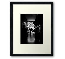 Out of the Dark Framed Print
