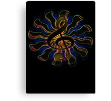 Dark Treble Clef / G Clef Music Symbol Canvas Print