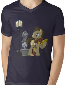 The Doctor Mens V-Neck T-Shirt