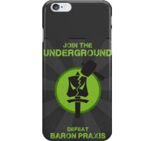 Underground Propaganda iPhone Case/Skin