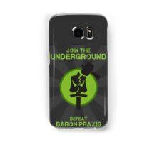 Underground Propaganda Samsung Galaxy Case/Skin
