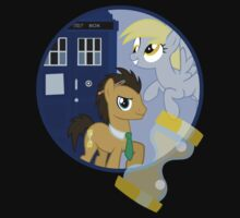 The Doctor and the Assistant  Kids Tee
