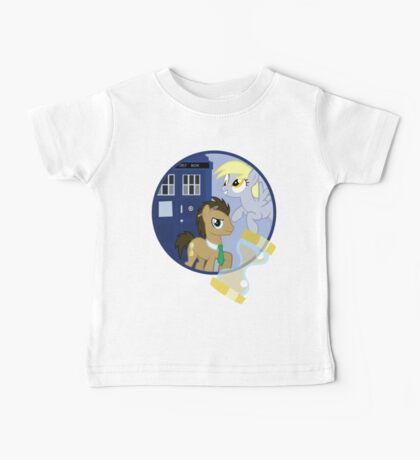 The Doctor and the Assistant  Baby Tee