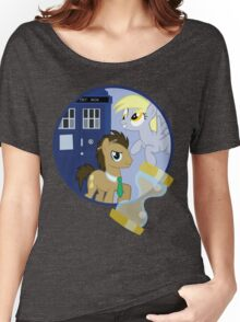 The Doctor and the Assistant  Women's Relaxed Fit T-Shirt