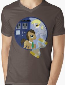 The Doctor and the Assistant  Mens V-Neck T-Shirt