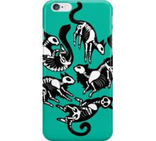 Creepy Kitty iPhone Case/Skin