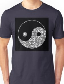 Perfect Balance 2 - Yin and Yang Stone Rock'd Art by Sharon Cummings Unisex T-Shirt