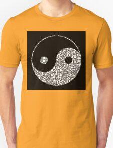 Perfect Balance 2 - Yin and Yang Stone Rock'd Art by Sharon Cummings Unisex T-Shirt