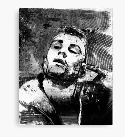Robert Deniro as Taxi Driver Canvas Print