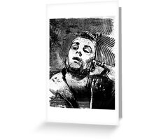 Robert Deniro as Taxi Driver Greeting Card