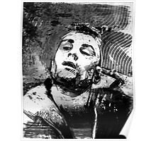 Robert Deniro as Taxi Driver Poster