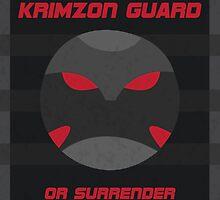 Krimzon Guard Propaganda by CyberneticGhost