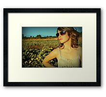 ::COUNTRY CHIC:: Framed Print