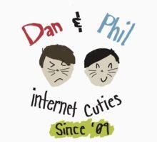 Dan & Phil: Internet Cuties Print One Piece - Short Sleeve
