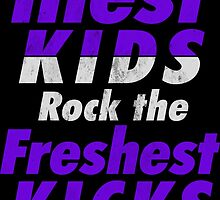 The Illest Kids Rock the Freshest Kicks by tee4daily