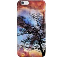 Night Sky Landscape Art By Sharon Cummings iPhone Case/Skin