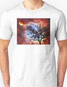 Night Sky Landscape Art By Sharon Cummings T-Shirt