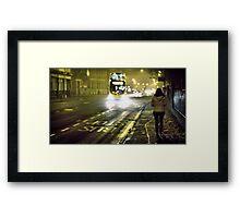 Mean Streets Framed Print